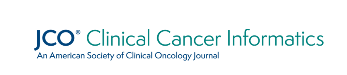 Logo of Journal of Clinical Oncology Clinical Cancer Informatics. An American Society of Clinical Oncology Journal.
