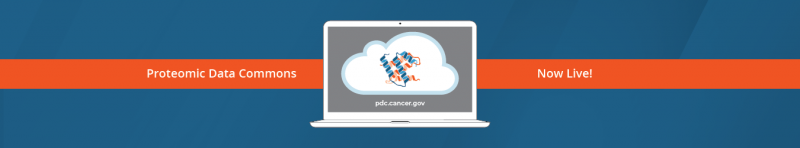Proteomic Data Commons. Proteomic Data through the NCI Cancer Research Data Commons. pdc.cancer.gov