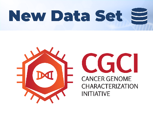 New Data Set Cancer Genome Characterization Initiative (CGCI)