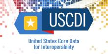 United States Core Data for Interoperability (USCDI) logo