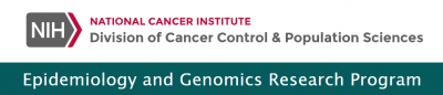 National Cancer Institute Division of Cancer Control & Population Sciences, Epidemiology and Genomics Research Program