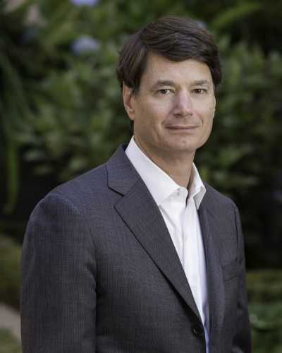 Headshot of Dr. Eben Rosenthall, Medical Director of Stanford Cancer Center